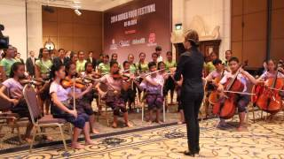 Cambodia National Anthem - Nor Kor Reach by Hosanna Cambodia Choir