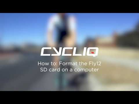 How to format your Fly12 on a computer