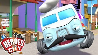 Heroes of the City - Backseat Driver | Cartoons For Kids | Vehicles For Kids | Car Cartoons