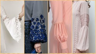 60+ Creative Sleeves Designs Summer Dresses 2019/Kurti Sleeves Collection