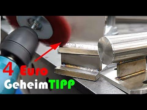 4 Euro Geheimtipp für WIG Schweißer | Geländer selber bauen und polieren