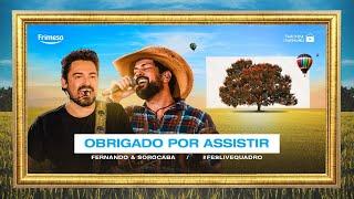 #FeSLiveQuadro #FernandoESorocaba #FiqueEmCasa e Cante #Comigo  LIVE 05.07.20 | 16H30  SIGA A DUPLA NAS REDES SOCIAIS Instagram: @fernandoesorocaba Facebook: facebook.com/fernandoesorocaba Twitter: https://twitter.com/duplaFeS