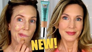 Foundation Friday Over 50 | IT Cosmetics Oil-Free Matte CC+ Cream