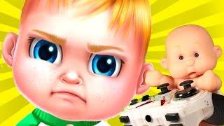 БОСС МОЛОКОСОС МИР BOSS BABY Пупс Антоша и ПАПА играют в Игра как Мультик для детей