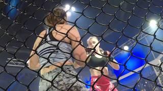 Tetiana Vozniuk vs Olga Rubin KNO world Tour Israel. 66kg (1 round)