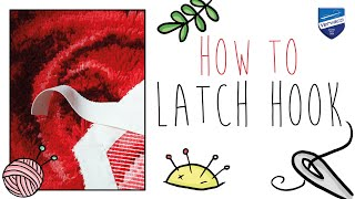 How to latch hook with Vervaco