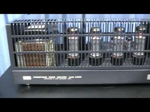 lungyim~TS audio KC-1 - Luxman LUXKIT A3500 TUBE Amplifier - Goodmans Vintage Speakers ( 1 )