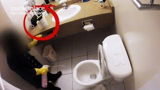 Dirty hotel rooms: Hidden camera shows what really gets cleaned (CBC Marketplace)