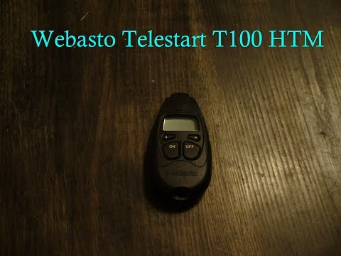 Webasto Telestart T100 HTM - All Features!
