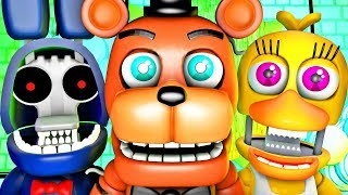 Five Nights at Freddy's Song (FNAF 2 World SFM 4K Withered)(Ocular Remix)