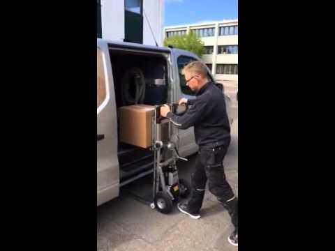 CargoMaster aftagelig C-lift med gaffelhejs 100 kg