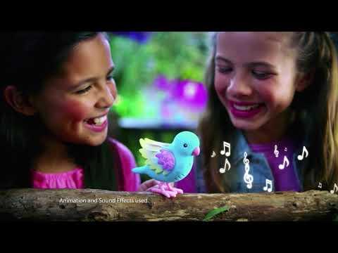 Интерактивная птичка Little live pets Радужный Свет