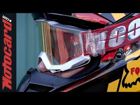 Cómo instalar unos TEAR OFF en las gafas de MOTOCROSS