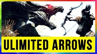 Skyrim Remastered GLITCH How to get Unlimited Daedric Arrows & Gold (Special Edition Tip)!