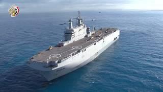 """المتحدث العسكري ينشر """"فيديو"""" تنفيذ القوات البحرية عملية برمائية في المتوسط"""
