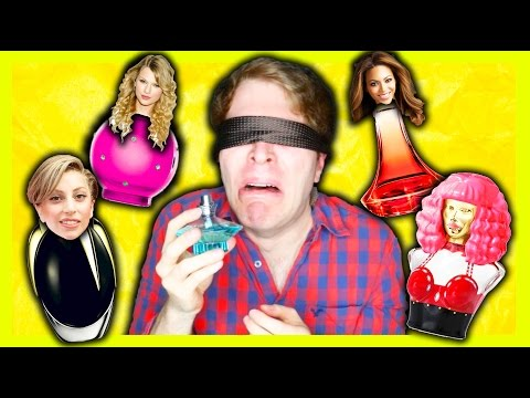 TRYING WEIRD CELEBRITY PERFUMES!