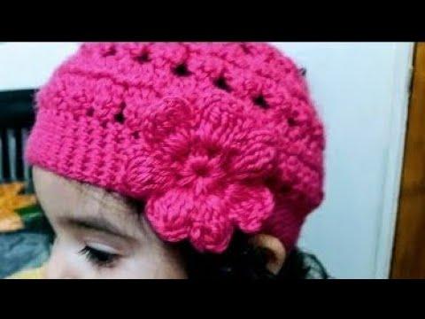b89e53511 Como tejer Gorro en crochet para ninas - Crochet Scrunchies