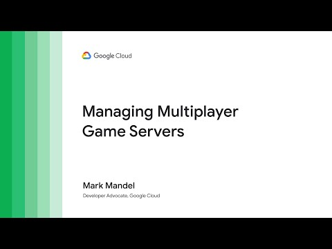 Youtube video, Game Servers overview