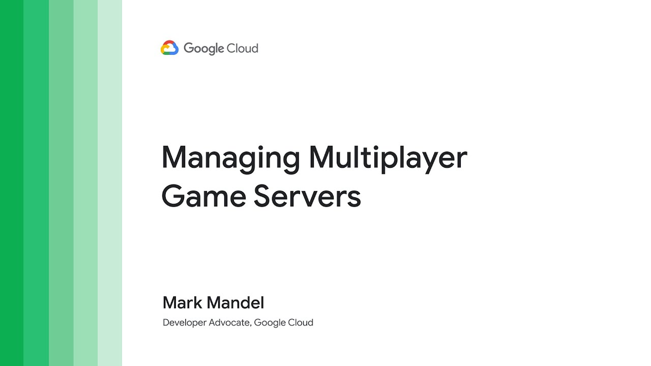 Today's hit multiplayer games have a global player base, but how do these games orchestrate their game servers at a global level? One way that game developers do such a thing is via Google Cloud Game Servers - a managed service offering of Agones. Watch how Google Cloud's Game Servers take the complexity out of managing your servers at a global scale, helping you by providing simplicity in running, scaling and orchestrating your global, multicluster game server fleet.
