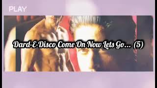 Dard- E Disco (Om Shanti Om) Lyrics - YouTube
