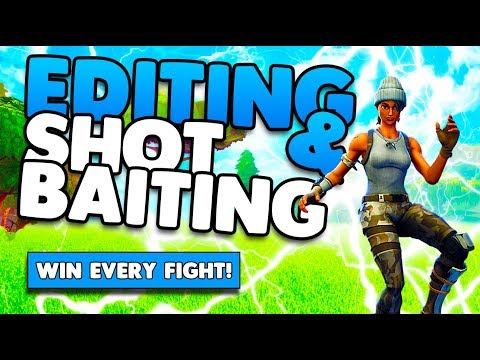 Stair Editing & Shot Baiting Guide! | Win More Fights! | Tips and Tricks | Fortnite Battle Royale