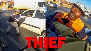 BIKER STOPPED THIEF FROM STEALING | 14 MINUTES OF  CRAZY & ANGRY PEOPLE vs BIKERS | [Ep. #224]