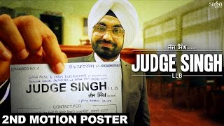Judge Singh LLB - 2nd Motion Poster |  Ravinder Grewal l New Punjabi Movies 2015