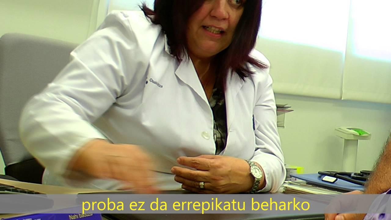 Kolonoskopiarako prestaketaren bideoa