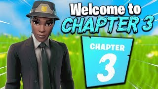 I Pretended I'm Playing Fortnite Chapter 3