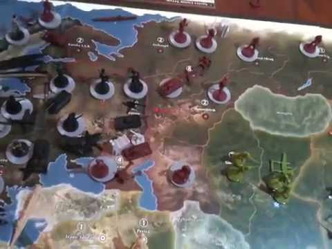 1942 Axis and Allies Strategy Part 1