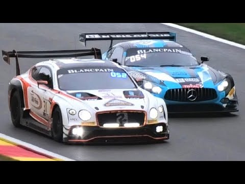 MISTAKES + ACTION! Blancpain GT Series at 24 hours of Spa-Francorchamps 2019