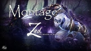 FIRST ZED MOTAGE- MY BEST ZED PLAYS OF 2017!!!!