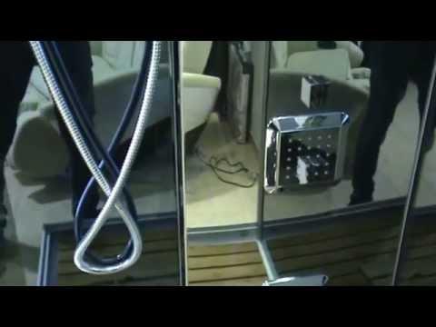 Cabina de Hidromasaje con sauna ECO-DE®, Mod: Inspiration ECO-9816 115X85X225 Cm