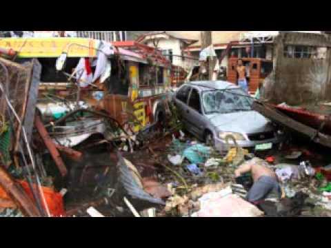 Thảm họa nhân loại.Hình ảnh đau thương 10 000 người chết phơi xác ở philippine
