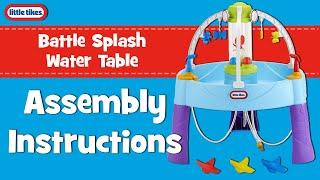 Vandens stalas - Vandens mūšis   Battle Splash Fun Zone   Little tikes 648809E3