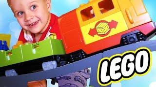 ★ LEGO Duplo Большой Поезд Делюкс Конструктор Паровозик LEGO Duplo Train 10508 Deluxe Set Unpacking