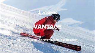 Видеообзор: Новая линейка горных лыж Atomic Vantage