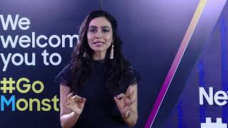 MEGHANA KAUSHIK hosts launch of Samsung Galaxy M30s.