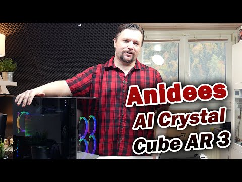 anidees AI Crystal Cube AR V3 Review [Deutsch] 4K