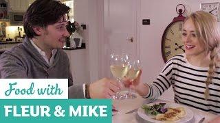 Valentine's Day Heart Pasta | Fleur & Mike