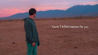 Alec Benjamin   If I Killed Someone For You [Official Lyric Video]