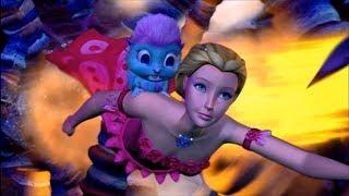 Barbie Fairytopia: Mermaidia -  Nori guides Elina through the Geysers