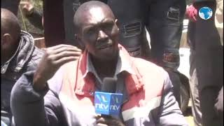 Kimwarer residents express their disappointment with Uhuru