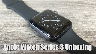 Apple Watch Series 3 Space Grey Unboxing and Setup