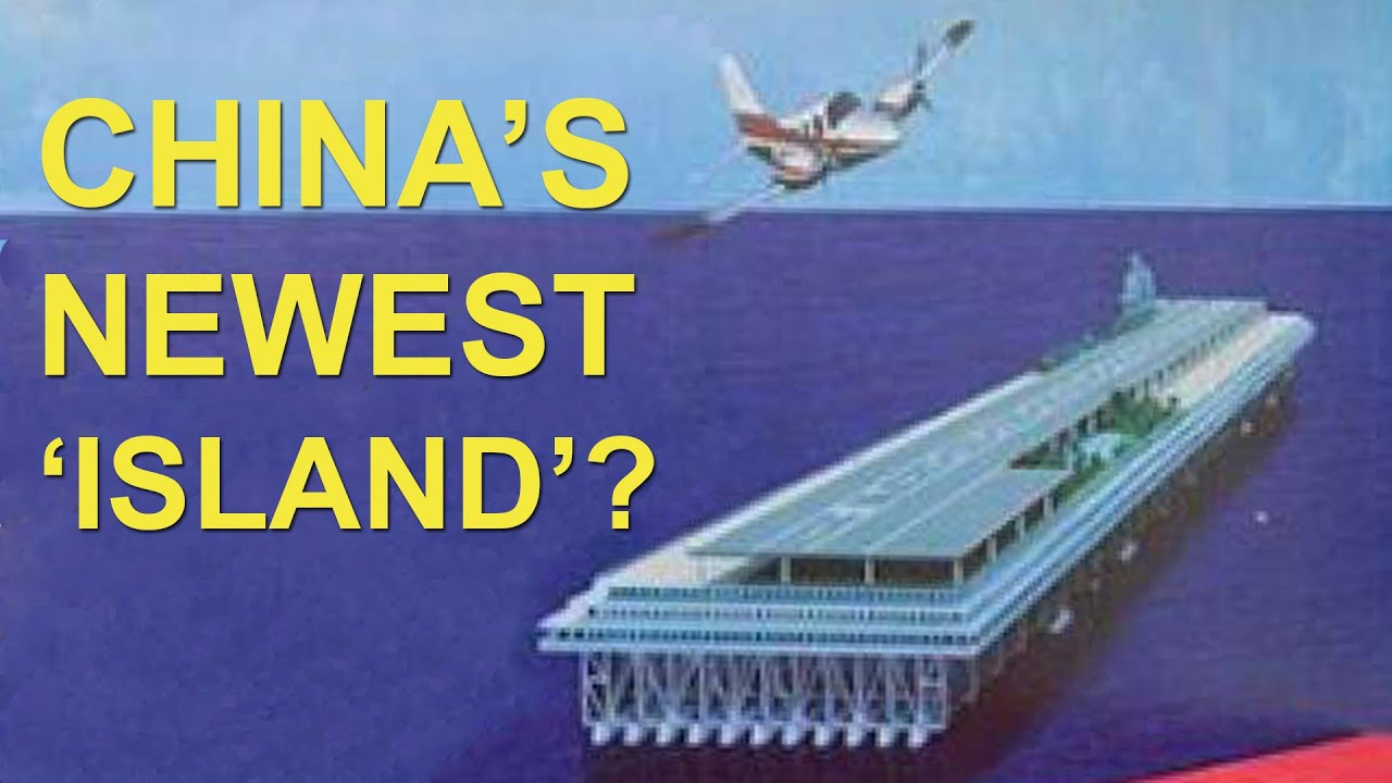 China May Build Floating Islands in the South China Sea | China Uncensored thumbnail
