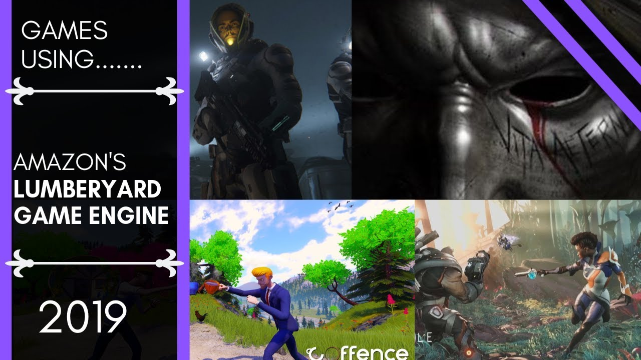 7 Games using the Amazon Lumberyard Game Engine!!