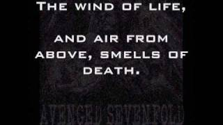 To End the Rapture (orginal) - LYRICS - Avenged Sevenfold