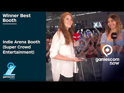 Best Booth of gamescom 2019: Indie Arena Booth - gamescom awards