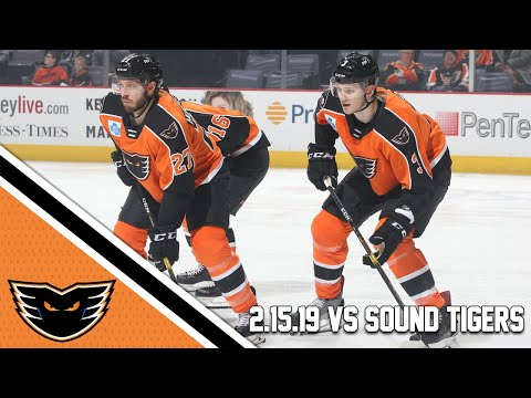 Sound Tigers vs. Phantoms | Feb. 15, 2019