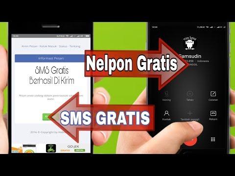 Video Cara SMS Dan Nelpon Gratis Tanpa Pulsa Ke Semua Operator Indonesia